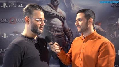 God of War - Cory Barlog intervjuad