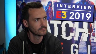GRTV på E3 19: Intervju med studion bakom Watch Dogs Legion