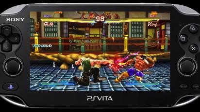 Street Fighter X Tekken - PS Vita Gameplay Trailer