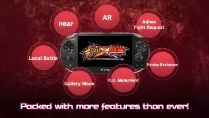 Street Fighter X Tekken - PS Vita Features Trailer