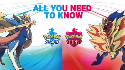 Allt du behöver veta om Pokémon Sword & Pokémon Shield
