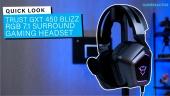GRTV packar upp Trust GXT 450 Blizz Headset