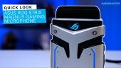 GRTV packar upp ASUS ROG Strix Magnus Gaming Mic
