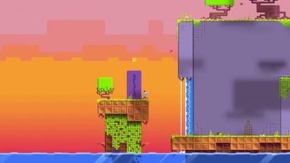 Fez - 2D into 3D Gameplay