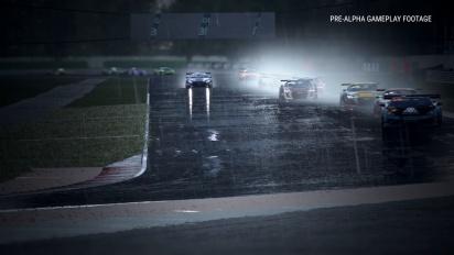 Assetto Corsa Competizione - Misano Circuit Mercedes AMG GT3 Rain Gameplay