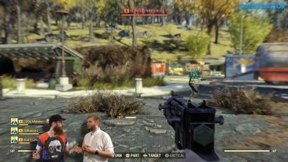 GRTV videoförhandstittar Fallout 76