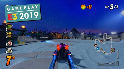GRTV lirar Crash Team Racing Nitro-Fueled