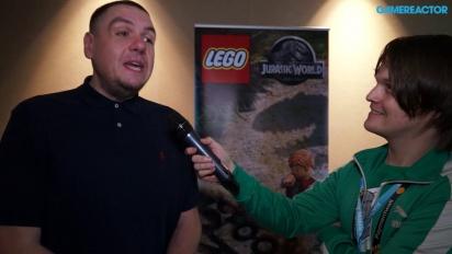 Lego Jurassic World - Mike Taylor-intervju