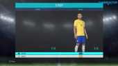 PES 2018 - 1 mot 1 online beta-gameplay
