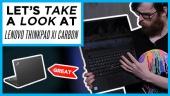 GRTV myser lite med Lenovo ThinkPad X1 Carbon