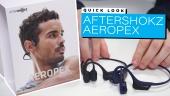 GRTV testar hörlurarna AfterShokz Aeropex