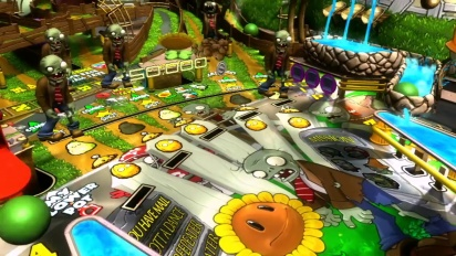 Pinball FX 2 & Zen Pinball 2 - Plants vs Zombies Pinball Machine