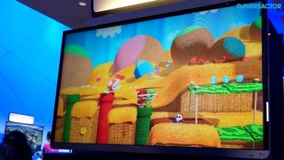 E3 2014: Yoshi's Woolly World - Gameplay