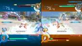 Vi spelar multiplayer på delad skärm i Pokkén Tournament DX