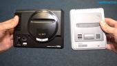 Mega Drive Mini mot Super Nintendo Mini - Hårdvarujämförelse