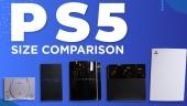GRTV jämför storleken på PS5 med... Allt