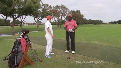 Tiger Woods PGA Tour 14 - Marshall Faulk Is Swinging Like Shaq Trailer