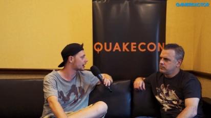 Vi pratar om QuakeCon med Bethesdas Pete Hines