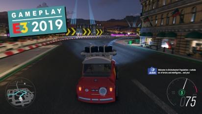 GRTV på E3 19: Vi provspelar Forza Horizon 4: Lego Speed Champions