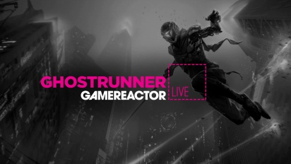 GRTV tillbringar mer tid med Ghostrunner