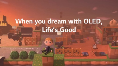Animal Crossing - Introducing LG OLED island