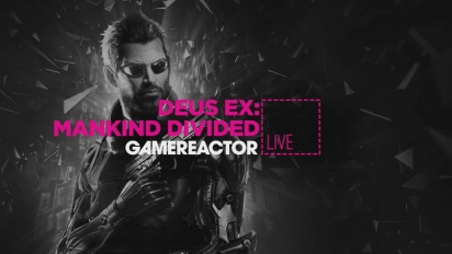 Deus Ex: Mankind Divided - Livestream-repris