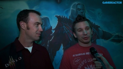 Diablo III: Rise of the Necromancer - Vi intervjuar Rob Foote & Matthew Berger