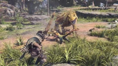 Monster Hunter: World Release Reveal Trailer
