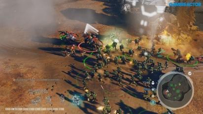 Halo Wars 2 - Kampanj-gameplay