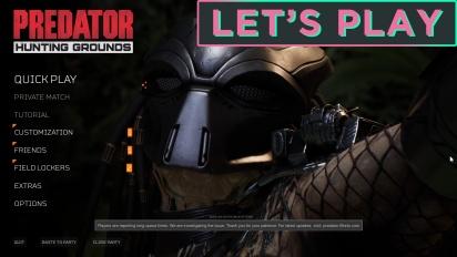 GRTV spelar Predator: Hunting Grounds