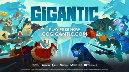 Gigantic - Official Launch Trailer