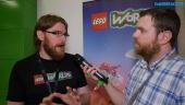 Lego Worlds - Vi intervjuar Chris Rose