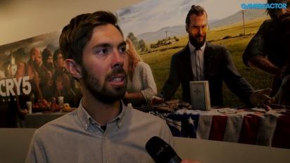 Far Cry 5 - VI pratar med Phil Fournier