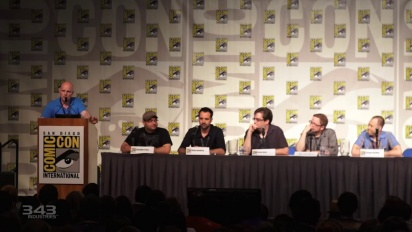 Halo Fiction Comic Con Panel