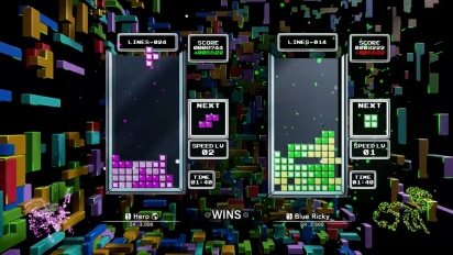 Tetris Effect - Nintendo Switch Gameplay Preview