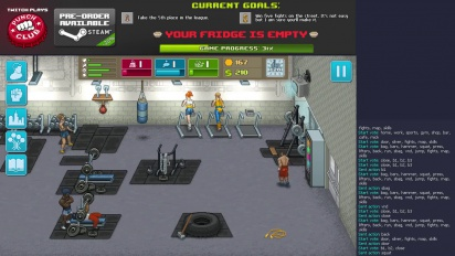 Punch Club - Twitch Plays Punch Club