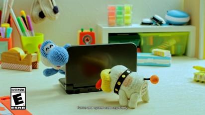Poochy & Yoshi's Woolly World - Peek-a-boo! Trailer