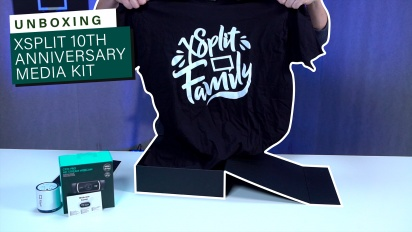 GRTV packar upp Xsplit 10th Anniversary Media Kit