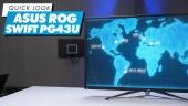 GRTV packar upp ASUS ROG Swift PG43UQ