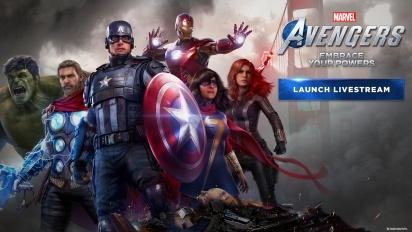 GRTV spelar ännu mer av Marvel's Avengers
