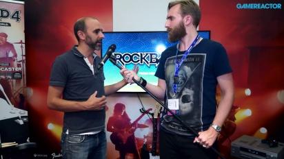 Rock Band 4 - Intervju med studion