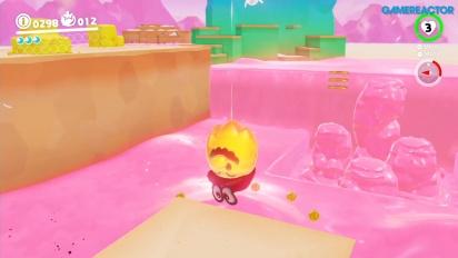Super Mario Odyssey - Luncheon Kingdom Gameplay Del 1