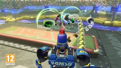ARMS - Byte & Barq Character Gameplay