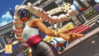 ARMS - Twintelle Character Gameplay
