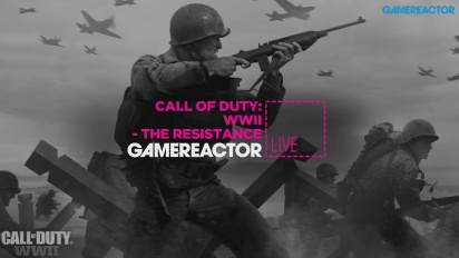 GRTV spelar Call of Duty: WWII - The Resistance