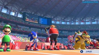 Mario & Sonic at the Olympic Games Tokyo 2020 - 110 metres Hurdles Gameplay