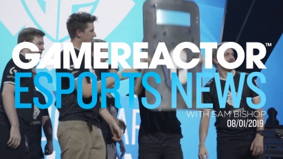 GRTV presenterar Gamereactor Esports News (Jan 8)