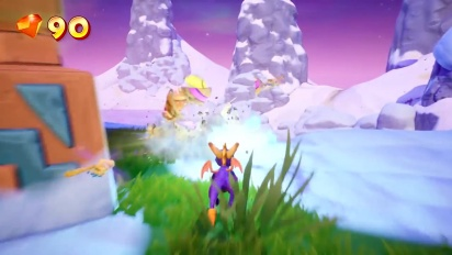 Spyro Reignited Trilogy - Frozen Altars Gameplay