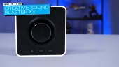 GRTV packar upp Sound Blaster X3