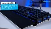 GRTV packar upp SteelSeries Apex 7